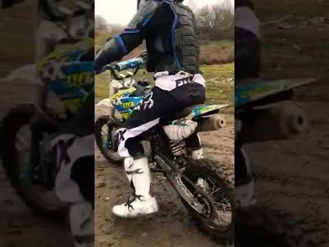 Me On  My M2r Kx 110 F Pit  Bike