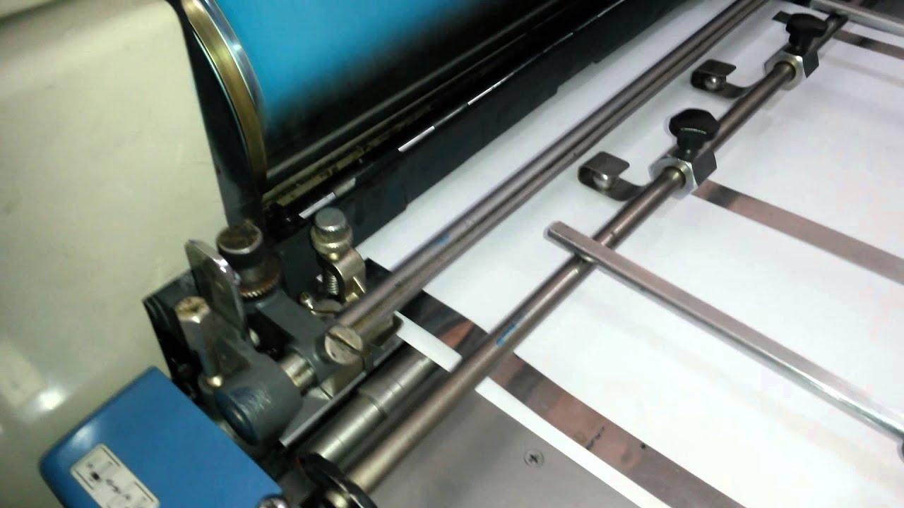 Ryobi 500n mini offset printing machine youtube ryobi 500n mini offset printing machine publicscrutiny Choice Image