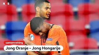 Alles of niets voor Jong Oranje   samenvatting Jong Oranje - Jong Hongarije   EK voetbal -21