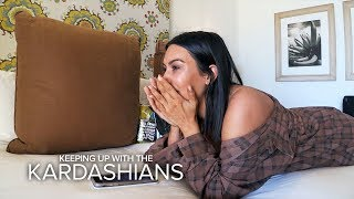 KUWTK | Kim Kardashian Fears She's Not Safe While in Mexico | E!