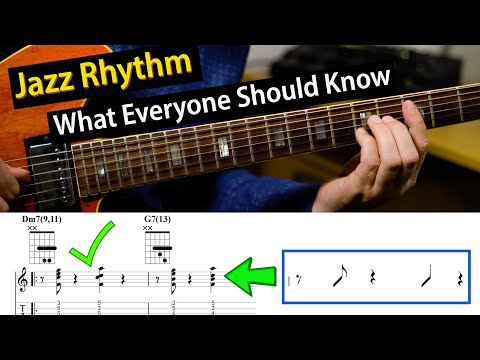 How To Make Your Comping Rhythms More Interesting