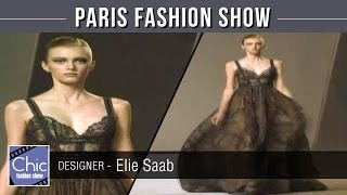 Designer Elie Saab | Paris Fashion Week Runway