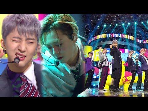 《Comeback Special》 PENTAGON(펜타곤) - Shine(빛나리) @인기가요 Inkigayo 20180408