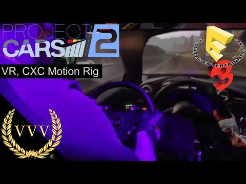 Project CARS 2 VR, CXC Simulations Motion Rig