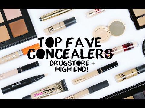 TOP FAVORITE CONCEALERS | FULL COVERAGE, NON CREASING + HIDE DARK UNDER EYE CIRCLES!