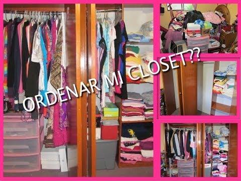 Como organizar tu closet lety ma youtube - Como ordenar un armario pequeno ...