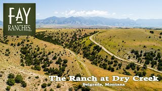 Montana Bridger Mountains View Property For Sale | The Ranch At Dry Creek | Belgrade, Mt