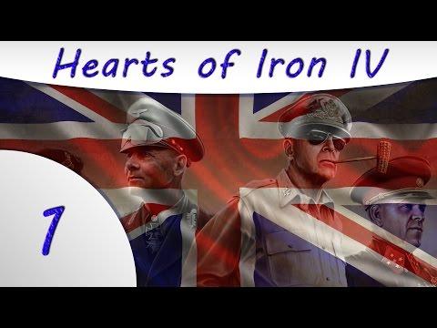 Hearts of Iron IV -1- United Kingdom Gameplay