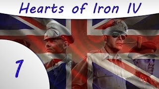 Hearts of Iron IV -1- United Kingdom Gameplay