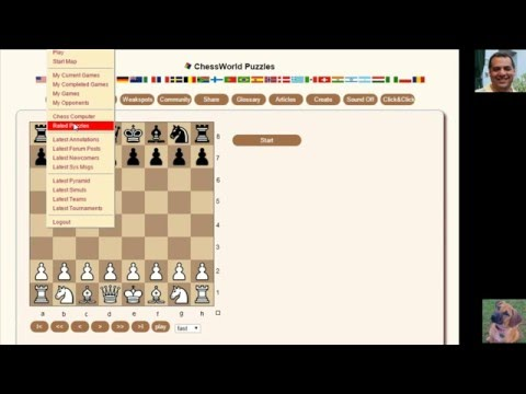 How to solve Chess Puzzles: Chessworld.net Puzzle Practice #37