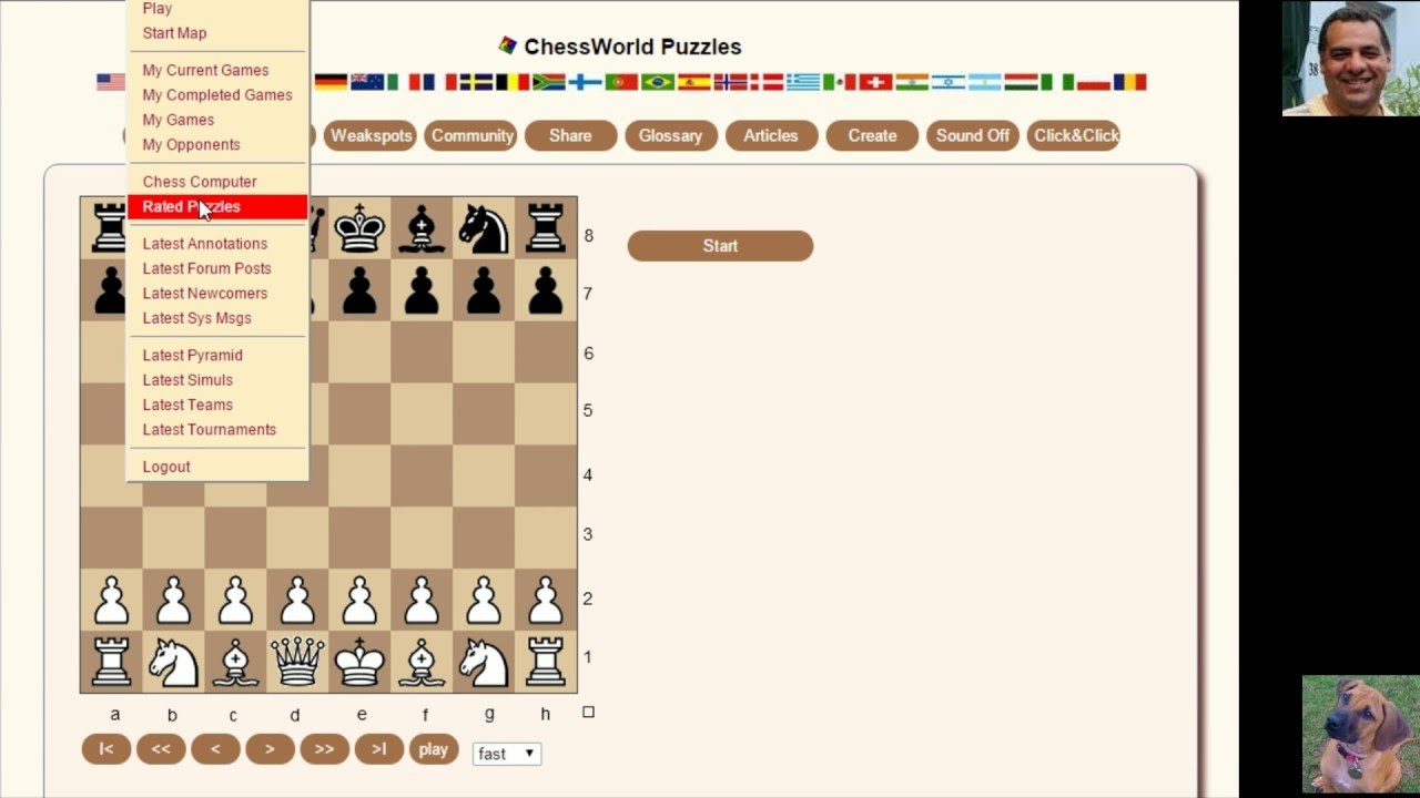 How to solve Chess Puzzles: Chessworld net Puzzle Practice #37