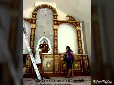 Church Altar made by GAZA DATU FURNITURE