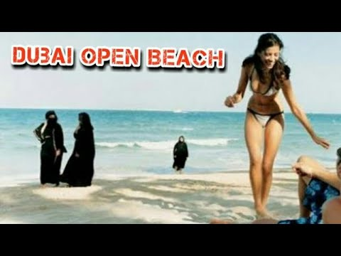 Dubai open Beach Jumeirah beach Hotel