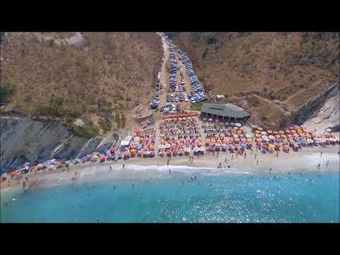 Albania, a hidden treasure. Albanian riviera by drone