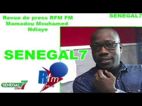 Revue de presse (Wolof) Rfm du 05 Août 2019 avec Mamadou Mouhamed Ndiaye