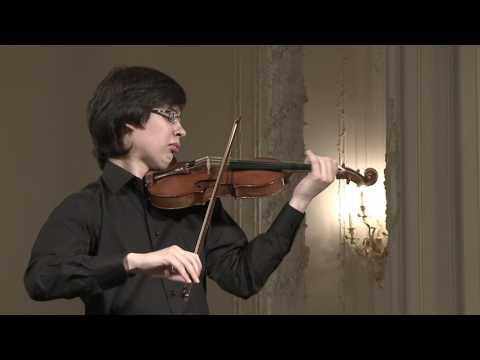 Aylen Pritchin (violin) English Hall of St. Petersburg Music House 2013-06-19 Part 1