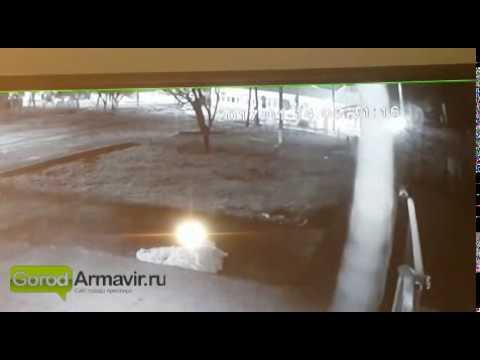 Смертельное ДТП в Армавире. Видео с камер видеонаблюдения на сайте GorodArmavir.ru