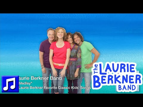 """""""ABCD Medley"""" By The Laurie Berkner Band - Best Kids Songs"""