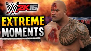 WWE 2K16 EXTREME MOMENTS