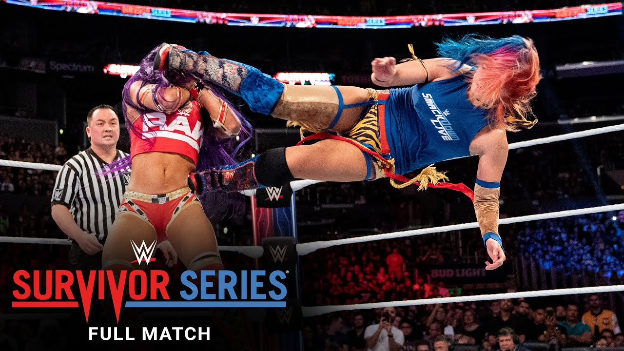 Download FULL MATCH - Team Raw vs. Team SmackDown - Women's 5-on-5 Elimination Match: Survivor Series 2018