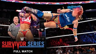 FULL MATCH - Team Raw vs. Team SmackDown - Women's 5-on-5 Elimination Match: Survivor Series 2018