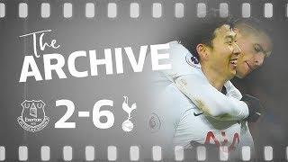 THE ARCHIVE | Everton 2-6 Spurs | Spurs score SIX at Goodison Park!