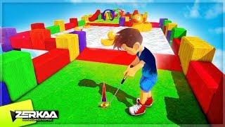 Brand New 3D Ultra Minigolf Type Game! (RD's Adventure Mini Golf)