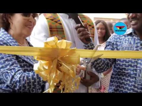 Dr. Papa Kwesi Nduom leads tour of new offices of Groupe Nduom