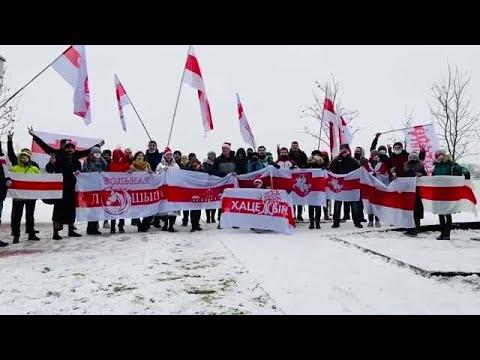 Belarusians Demand Lukashenka Resign