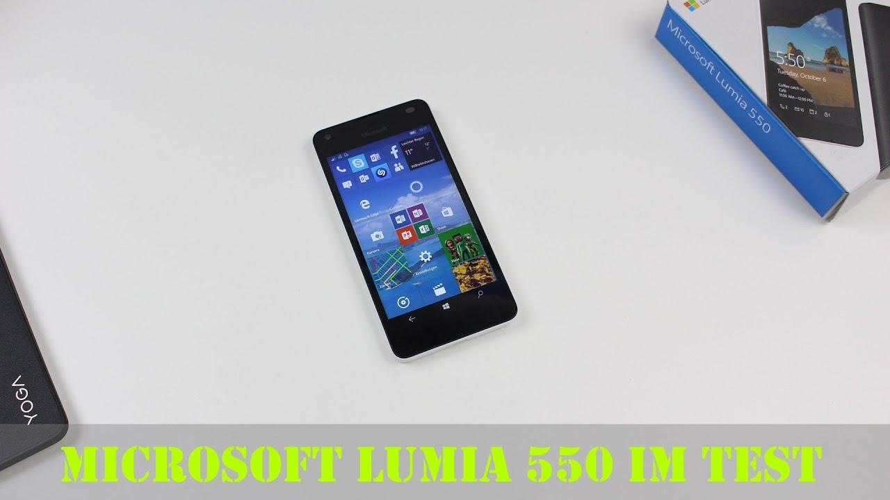 Microsoft Lumia 550 im abschließenden Test (Deutsch ...