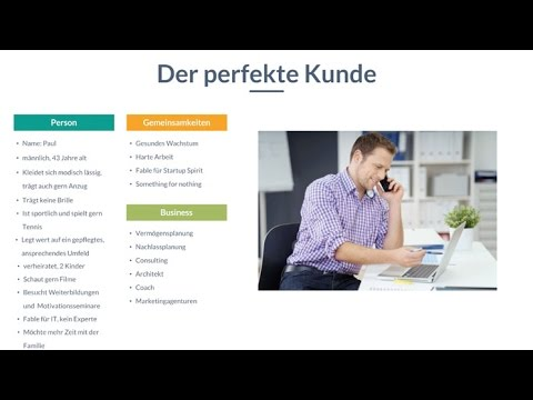 Online Marketing Video Kurs Video 1 Zielgruppe definieren