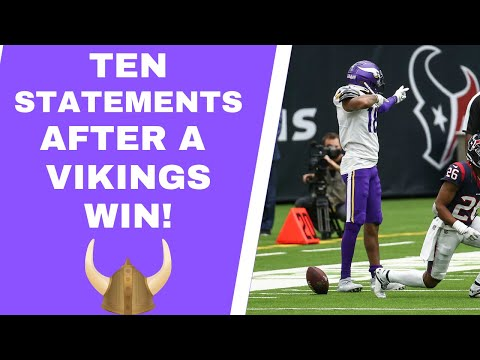 Minnesota Vikings: The perfect blueprint for a win
