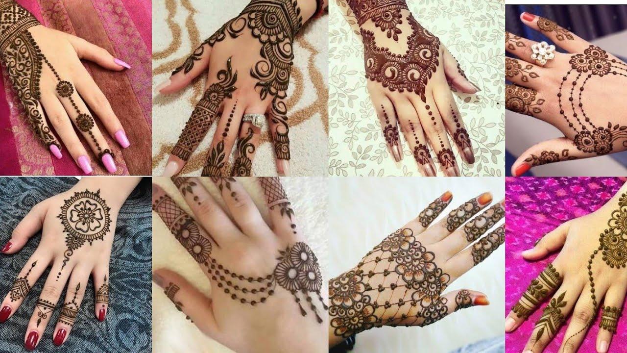 2018 Top 100 Arabic Pakistani Indian Mehndi Design