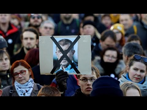 Andrej Babis EU funds scandal: Czech protesters use revolution anniversary to call for PM to quit