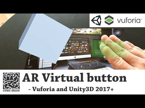 How to create Virtual buttons with Vuforia AR & Unity3D