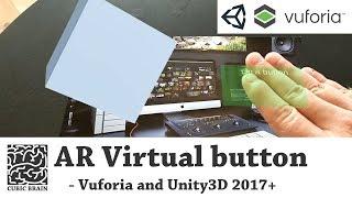 Wie erstellen Sie die Virtuellen Tasten mit Vuforia AR & Unity3D