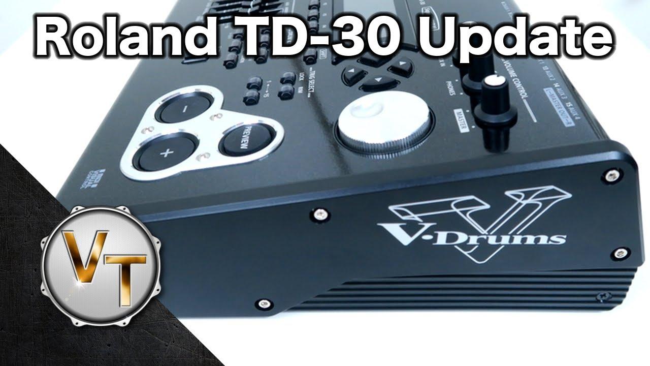roland td 30 module update guide youtube. Black Bedroom Furniture Sets. Home Design Ideas