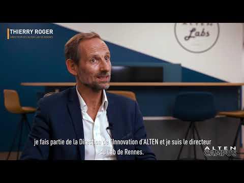 À la découverte du Lab de Rennes ALTEN avec Thierry Roger