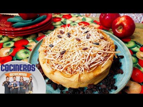 Receta: Pastel de crepas y manzanas confitadas | Cocineros Mexicanos