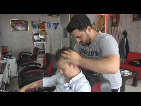 ASMR Turkish Barber Face,Head and Body Massage 167