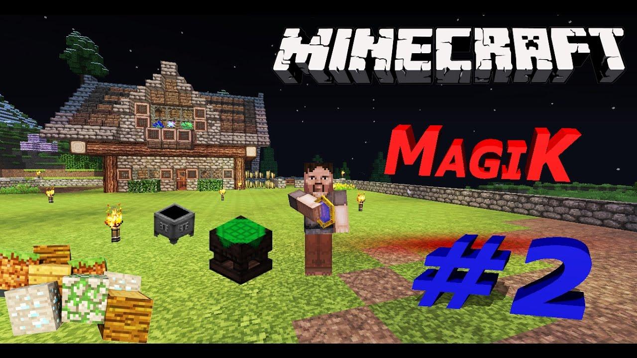 Майнкрафт магический остров 2 серия