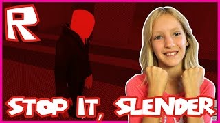 Stop It, Slender 2! Last One Surviving / Roblox
