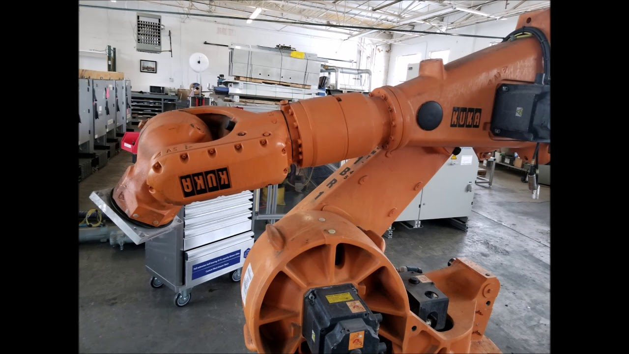 ballard international - dismantling a kuka robot - youtube