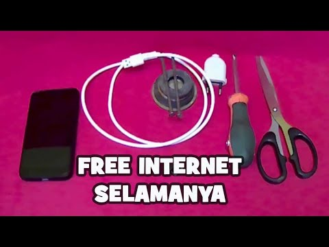 MENGUNGKAP KEBOHONGAN Cara MEMBUAT FREE INTERNET   Free WiFi Dimanapun Berada,,  Internet Gratis