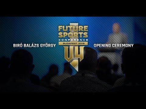 V4 Business Conference Budapest 2018 - Biró Balázs György - Opening Ceremony - 1.