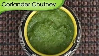 How To Make Coriander Mint Chutney | Hara Dhaniya Chutney | Vegetarian Dip Recipe by Ruchi Bharani