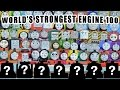 NEW WORLD S STRONGEST ENGINE 100 64 COMPETE WITH 7 MYSTERY ENGINES
