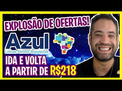 EXPLOSÃO DE PASSAGENS AÉREAS AZUL - A PARTIR DE R$218!