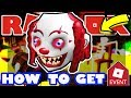 [EVENT] How To Get the Clown Head Roblox 2018 Halloween Event Tutorial