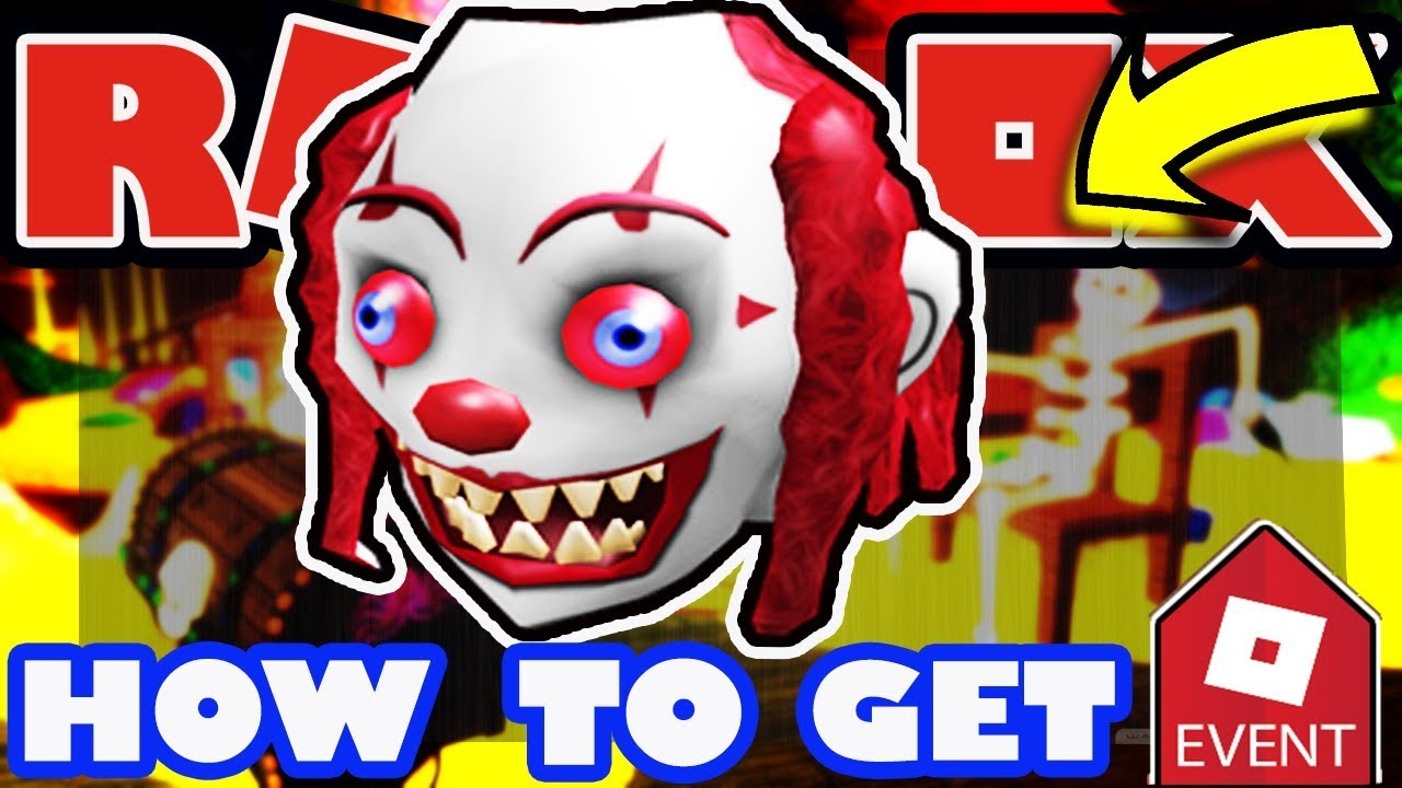 Clown Head Roblox Event Event How To Get The Clown Head Roblox 2018 Halloween Event Tutorial Youtube